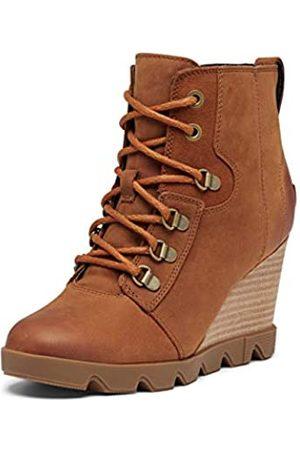sorel Women's Joan Uptown Lace Boot - Rain - Waterproof - Iced Tea - Size 9