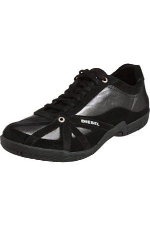 Diesel Damen Schuhe - Sport Damen MoveIn Schnürschuh Mode Sneaker, (Schwarzes Leder/Wildleder)