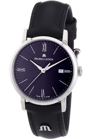 Maurice Lacroix Damen-Armbanduhr XS Eliros Analog Quarz Leder EL1084-SS001-810