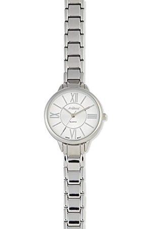 Arabians Damen Uhren - DamenAnalogQuarzUhrmitEdelstahlArmbandDBA2268W