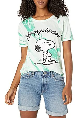 Peanuts Damen Snoopy Marble Wash Tee T-Shirt