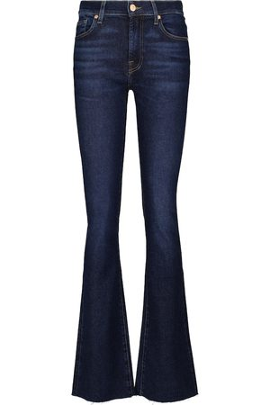 7 for all Mankind Mid-Rise-Bootcut Jeans