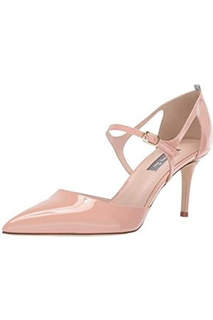 Sjp Women's Phoebe Pointed Toe D'Orsay Ankle Strap Dress Pump