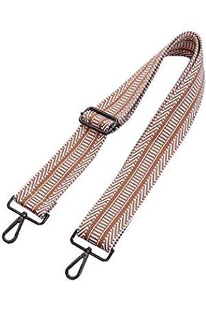 Umily Breiter Schultergurt, verstellbarer Ersatz-Gürtel, Gitarren-Stil, Cross-Body-Handtasche, (Khaki ( Metall))