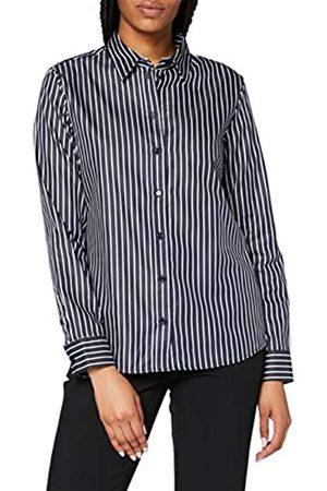 Seidensticker Damen Bluse – Fashion Bluse - Bügelleichte Hemdbluse mit Hemdblusenkragen - Slim Fit – Langarm – 100% Baumwolle