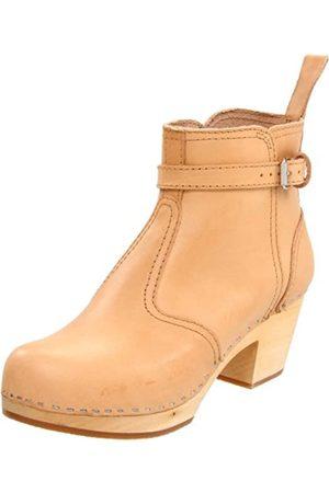 Swedish Hasbeens Damen Jodhpur Classic Boot, (Nature)