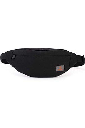 PYFK Damen Reisetaschen - Laufgürtel, Bauchtasche mit 3 Reißverschlusstaschen, verstellbare Hüfttasche für Herren/Damen, strapazierfähiger, schlanker Reisegürtel, leicht