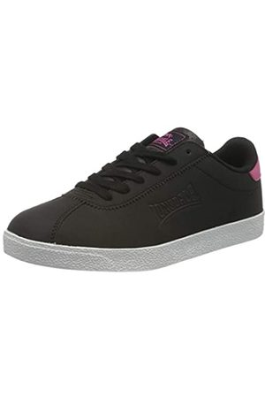 Lonsdale London Damen Schuhe - Damen Gowan Straßenlaufschuhe, BLACK/PINK