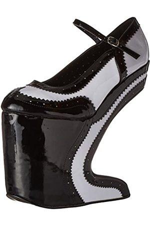 Bettie Page Damen Pumps - Women's Bp579-aubrey, Black