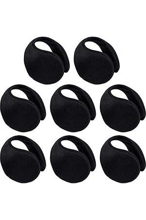 SATINIOR 8 Packungen Ohrenwärmer Abdeckung für Männer Frauen Fleece Winter Warm Ohrenschützer Unisex