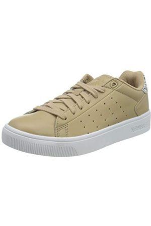 K-Swiss Damen Court Frasco II Sneaker, Nougat/Python