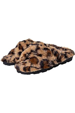 Aerosoles Damen Elegante Schuhe - Hausschuhe für Damen – Elegante Damen-Hausschuhe – Haus-Hausschuhe für Damen, S-XL, Braun (Kreuzband Leopard)