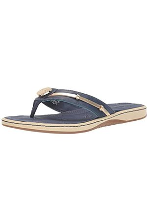 Lindsay Phillips Damen Schuhe - Becca-Navy Damen-Flop, Marineblau, (Navy)