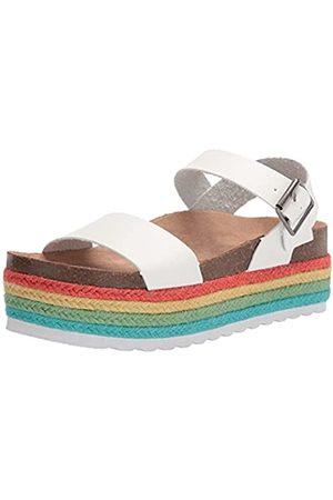 Dirty Laundry Damen Keilabsätze - Damen PALMS Keilabsatz-Sandale, /Mehrfarbig