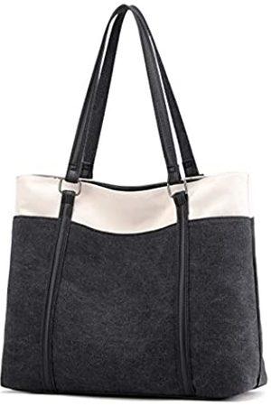 goldwheat Damen Shopper - Canvas Tote Bags Damen Schultertasche Handtasche für Arbeit Schule Reisen Shopping Strand Pack