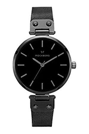 Mockberg Damen Uhren - DamenAnalogQuarzSmartWatchArmbanduhrmitEdelstahlArmbandMO305