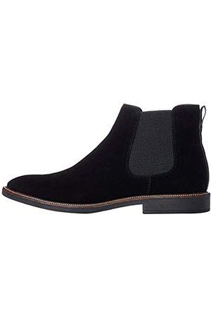 FIND Marsh Herren Chelsea Boots Stiefel, (Black/Black)