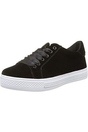 Molly Bracken Damen Sneakers Velours Sneaker, (Black)