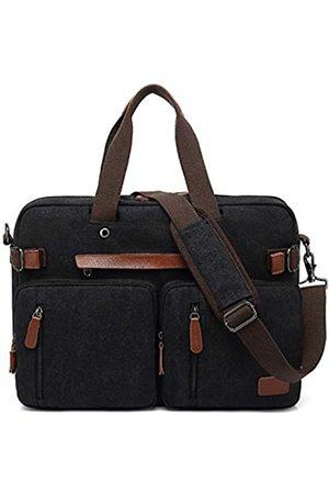 PD Umwandelbarer Reise-Laptop-Rucksack, Schultertasche, Kuriertasche, Aktentasche für Herren (17