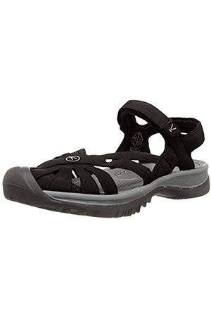 Keen Damen Outdoorschuhe - Damen Rose Sandal Trekking-& Wanderschuhe, (Black / Neutral Grey)