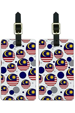 Graphics and More Graphics & More J-n-Malaysia Nationalflagge - Luggage.Tags.09629