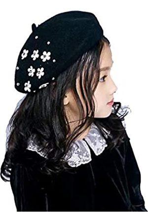 Orityle Baskenmütze für Mädchen, Winter, Wolle, klassischer französischer Stil, Prinzessinnen-Kuppel