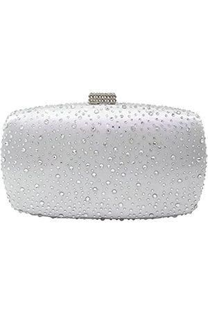 Boutique De FGG Damen Abendhandtaschen mit Diamantmuster