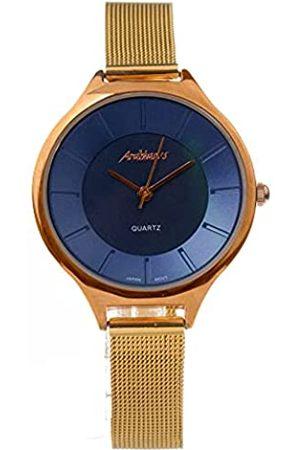 Arabians Damen Uhren - DamenAnalogQuarzUhrmitEdelstahlArmbandDBP0215A