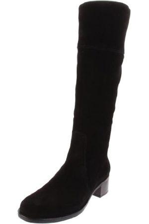 La Canadienne Damen Overknees - Damen Passion Stiefel, Schwarz (Schwarze Velourslederoptik)