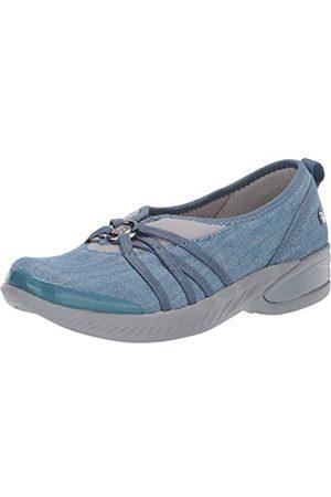 Bzees Damen Niche Sneaker, Waschbarer Denim-Stoff