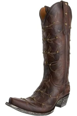 Old Gringo Damen Polostud Stiefel, (Brush Off Brown)