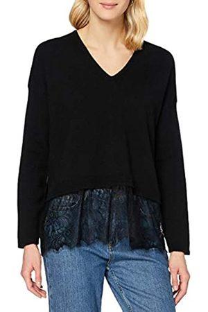 Sisley Women's V Neck L/S Sweater
