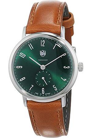 DUFA Damen Uhren - Damen Analog Quarz Uhr mit Leder Armband DF-7001-0M