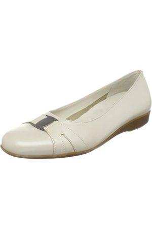 Walking Cradles Damen Tiffany Flat, Elfenbein (Bone Pearl Patent)