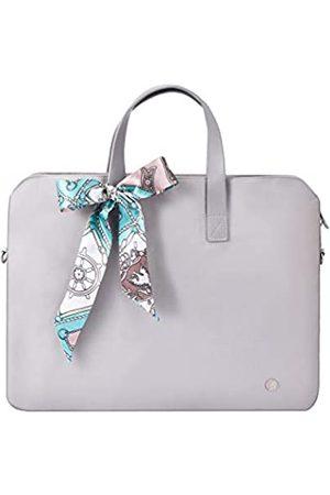Kamlui Laptoptasche für Damen, 33/35,6 cm (13/14 Zoll), wasserdicht, Schultertasche, Messenger Bag, für MacBook Air Pro, HP
