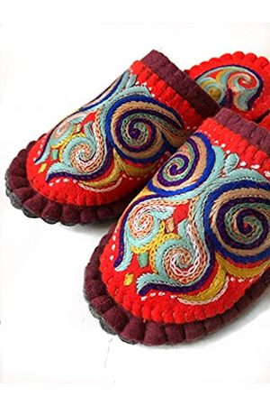 Nomad Organic Clothing Hausschuhe aus 100% handgemachtem Wollfilz, super leicht und gemütlich