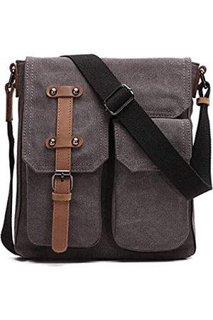 KL928 Messenger-Tasche für Herren, Canvas, wasserfest, für iPad Air
