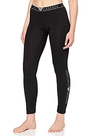 Emporio Armani Underwear Womens Iconic Logoband Leggings, Black