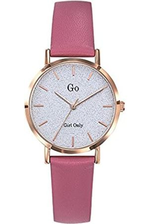 GO Girl Only Damen Analog Quarz Uhr mit Leder Armband 699905