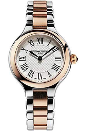 Frederique Constant Damen Analog Swiss Quartz Uhr mit Edelstahl Armband FC-200M1ER32B