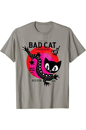 Pussy Deluxe Dragon Cat T-Shirt