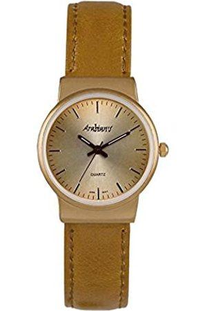 ARABIANS Damen Uhren - DamenAnalogQuarzUhrmitLederArmbandDBP2200C