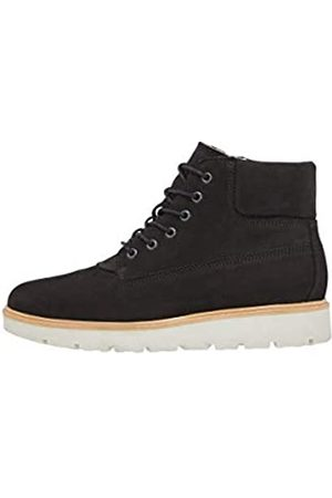 Bianco Damen BFANLI Wedge Nubuck Biker Boots, (Black 2 102)
