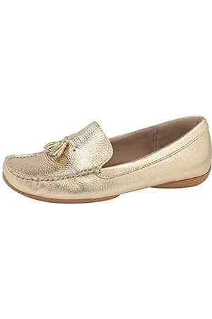 USAFLEX Damen Halbschuhe - Damen Loafer, Stilvoll und Bequem Slip-On Mokassin, (Old Silver)