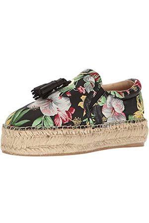 JSLIDES Women's Rosa Fashion Sneaker Black/Multi 7.5 US/US Size Conversion M US