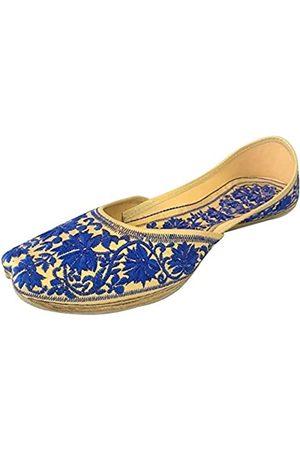 Step N Style Flachee Punjabi Jutti Flache Schuhe Hochzeitsschuhe Khussa Schuhe Mojari Jooti