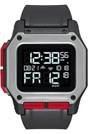 Nixon Herren Digital LCD-Digitalmodul Uhr mit Kunststoff Armband A1180-008-00