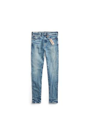RRL Skinny-Fit Stretchjeans mit hohem Bund