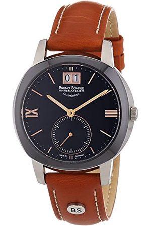 Soehnle Damen Uhren - Bruno Söhnle Damen-Armbanduhr XS Analog Quarz Leder 17-73147-735