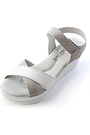 Arcopedico Womens Harley Grey/White Sandal - 41
